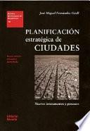 libro Planificación Estratégica De Ciudades