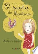 libro El Sueño De Martina  Libro Bilingüe