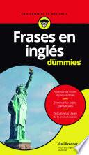 libro Frases En Inglés Para Dummies