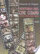 libro Historia Del Cine Cubano