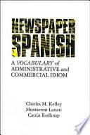 libro Newspaper Spanish