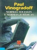libro Normas Sociales Y Normas Juridicas