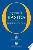 libro Ortografía Básica De La Lengua Española