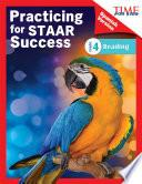 libro Time For Kids® Practicing For Staar Success: Reading: Grade 4 (spanish Version)