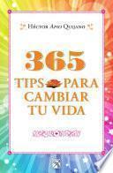libro 365 Tips Para Cambiar Tu Vida