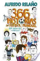 libro 366 Historias Del Fútbol Mundial Que Deberías Saber