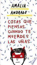 libro Cosas Que Piensa La Gente Cuando Se Muerde Las Uñas