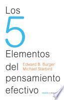 libro Los 5 Elementos Del Pensamiento Efectivo