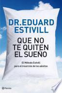 libro Que No Te Quiten El Sueño
