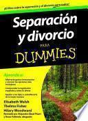 libro Separación Y Divorcio Para Dummies