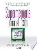 libro Supermemoria Para El éxito