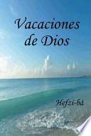 libro Vacaciones De Dios