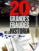 libro 20 Grandes Fraudes De La Historia