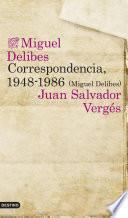 libro Correspondencia, 1948 1986 (miguel Delibes)
