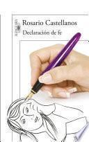 libro Declaración De Fe
