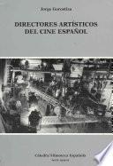 libro Directores Artísticos Del Cine Español