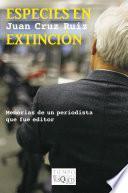 libro Especies En Extinción