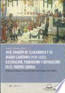 libro José Joaquín De Clararrosa Y Su Diario Gaditano, 1820 1822