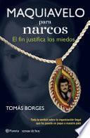 libro Maquiavelo Para Narcos