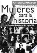libro Mujeres Para La Historia