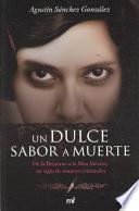 libro Un Dulce Sabor A Muerte