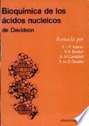 libro Bioquímica De Los ácidos Nucleicos De Davidson