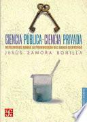 libro Ciencia Pública Ciencia Privada