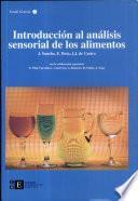 libro Introducción Al Análisis Sensorial De Los Alimentos