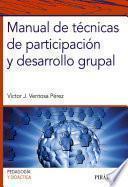 libro Manual De Técnicas De Participación Y Desarrollo Grupal