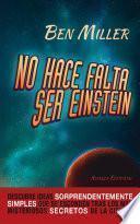 libro No Hace Falta Ser Einstein