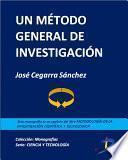 libro Un Método General De Investigación