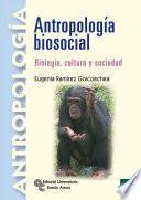 libro Antropología Biosocial