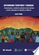 libro Defendiendo Territorio Y Dignidad: Emociones Y Cambio Cultural En Luchas Contra Represas En España Y México