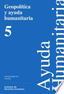 libro Geopolítica Y Ayuda Humanitaria