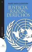 libro Justicia, Razón, Derechos