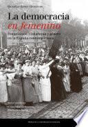 libro La Democracia En Femenino