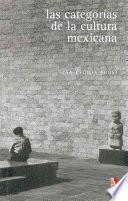 libro Las Categorías De La Cultura Mexicana