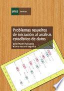 libro Problemas Resueltos De Iniciación Al Análisis Estadístico De Datos