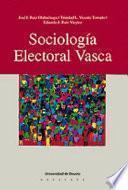 libro Sociología Electoral Vasca