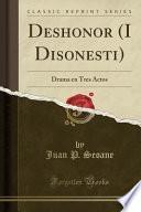 Deshonor (i Disonesti)