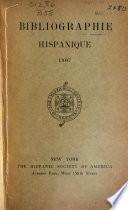 Bibliographie Hispanique