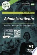 libro Administrativo/a Del Sas. Temario Común