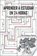 libro Aprender A Estudiar En 24 Horas