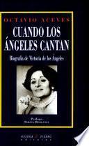 libro Cuando Los ángeles Cantan