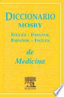 libro Diccionario Mosby