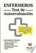libro Enfermeros. Test De Autoevaluación. Servicio Canario De Salud