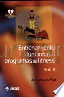 libro Entrenamiento Funcional En Programas De Fitness. Volumen Ii