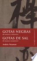 libro Gotas Negras