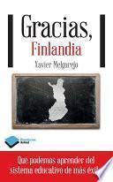 libro Gracias, Finlandia