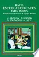 libro Hacia Escuelas Eficaces Para Todos